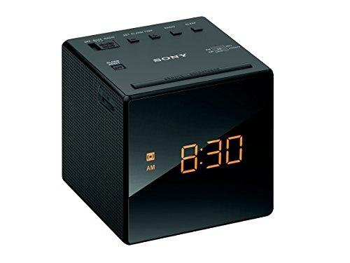 ソニー SONY クロックラジオ ICF-C1 : FM/AM/ワイドFM対応 おやすみタイマー ブラック ICF-C1 B