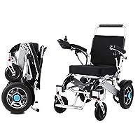 電動車椅子、折りたたみ式高齢者障害者支援車デュアルコントローラインテリジェントコンパクトポータブル軽量スクーターは15 kmを駆動できます