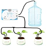 MAYiT Garden Automatic Drip Irrigation System, WiFi Connection iOS or and Android App Control Plant Watering Device, Plant Wa