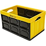 GreenMade InstaCrate Collapsible Storage Container 12 gal Yellow/Black