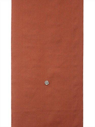 綿きもの反物 ・kr-37・赤茶・海老茶色