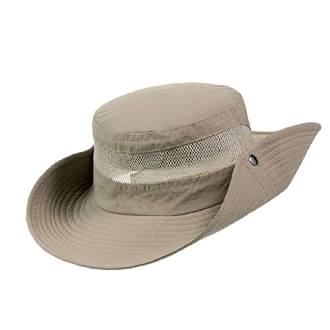 こだわり服を洗ううっかり日よけ帽 日曜日帽子屋外釣り帽子夏の紫外線保護漁師帽子日焼け止めバイザー登山帽子折りたたみ式 ZHAOSHUNLI