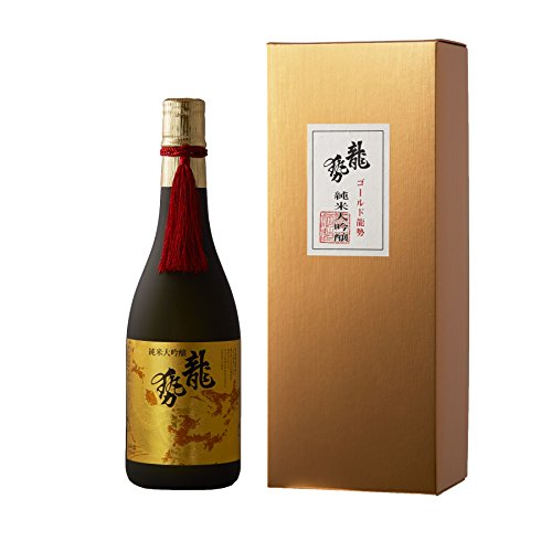 龍勢 生酛純米大吟醸 ゴールドラベル