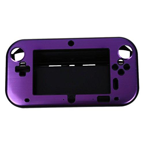 SODIAL(R) アルミケース カバー 任天堂Wii Uゲームパッド リモートコントローラーの為 ...