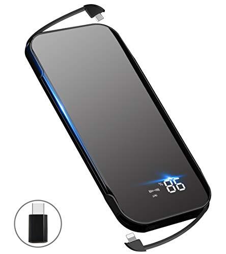 A-mumu『Qiワイヤレス充電モバイルバッテリー』