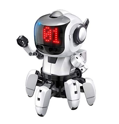 エレキット ロボット工作キット プログラミング・フォロ for PaletteIDE 赤外線レーダー搭載6足歩行ロボット  MR-9110