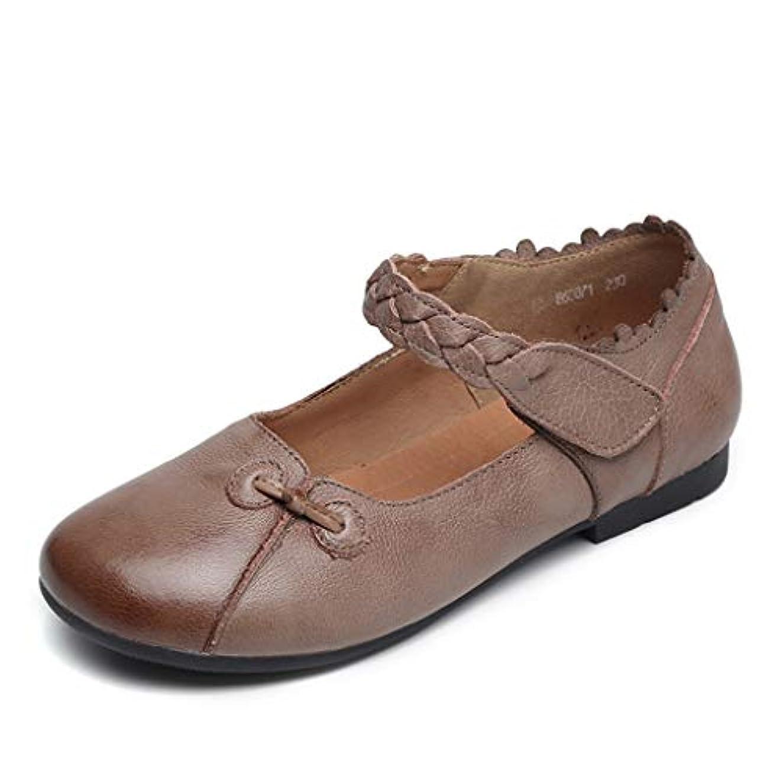 祝福全く反毒[実りの秋] シニアシューズ レディース 22.5-25.5CM お年寄りシューズ マジックテープ 疲れにくい 滑り止め 婦人靴 モカシン 介護用 軽量 安定感 通気性 高齢者 母の日 敬老の日 通年