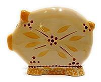 temp-tationsナプキンホルダーPig Old World Figural Farmyard Stoneware イエロー H195614 Napkin