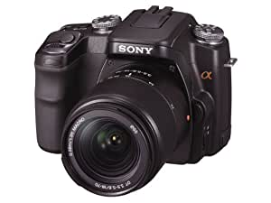ソニー SONY デジタル一眼レフカメラ α100 ズームレンズキット ブラック DSLRA100K/B