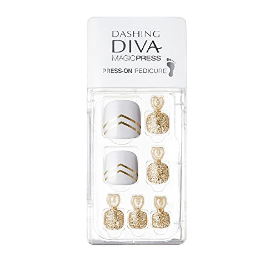 タイマー警戒の間でダッシングディバ マジックプレス DASHING DIVA MagicPress MDR001P-DURY+ オリジナルジェル ネイルチップ