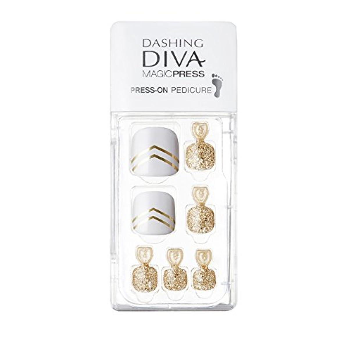 いいねバスルーム中間ダッシングディバ マジックプレス DASHING DIVA MagicPress MDR001P-DURY+ オリジナルジェル ネイルチップ