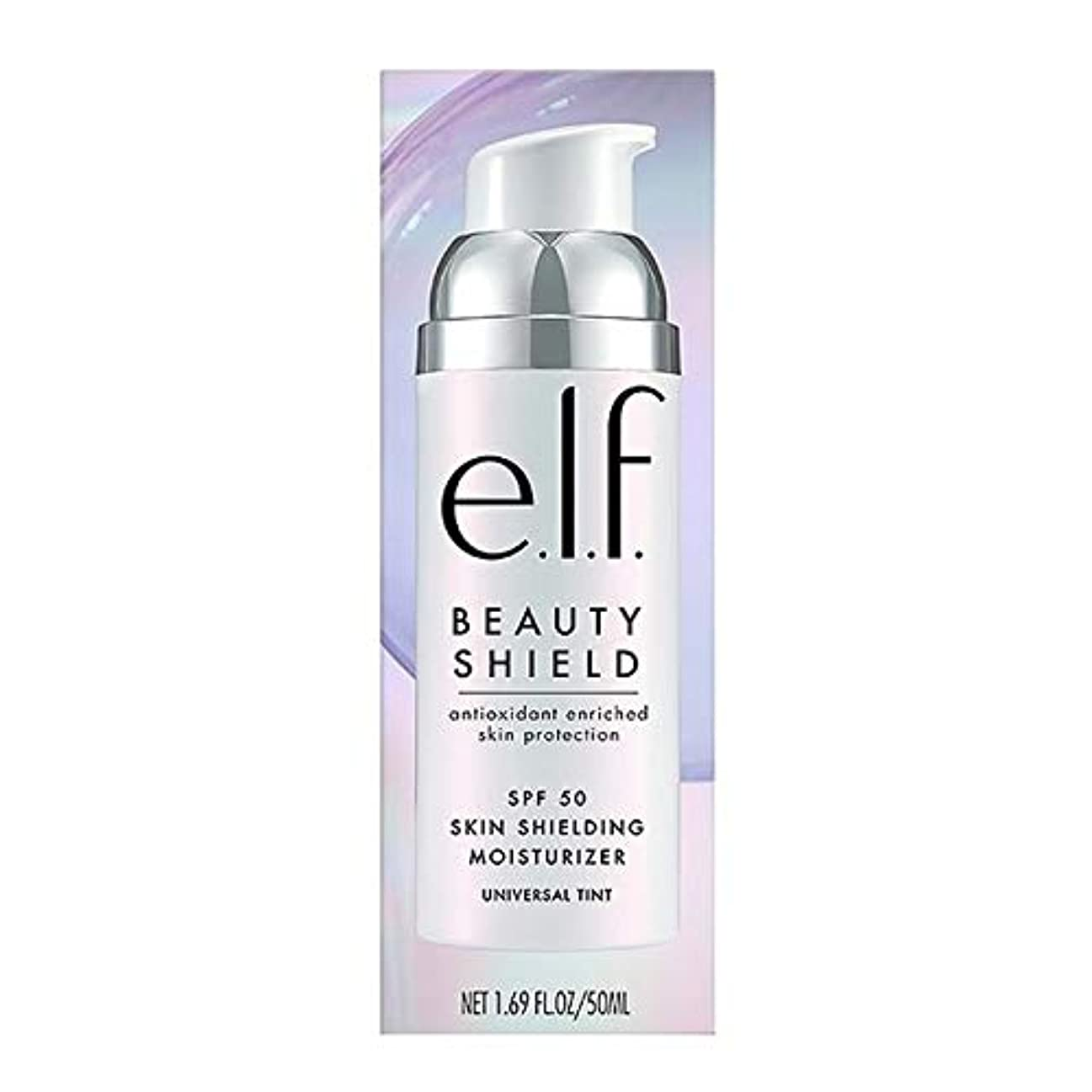 キャメル忠実な電子レンジ[Elf ] エルフ。美しさのシールド保湿Spf50の50ミリリットル - e.l.f. Beauty Shield Moisturiser SPF50 50ml [並行輸入品]