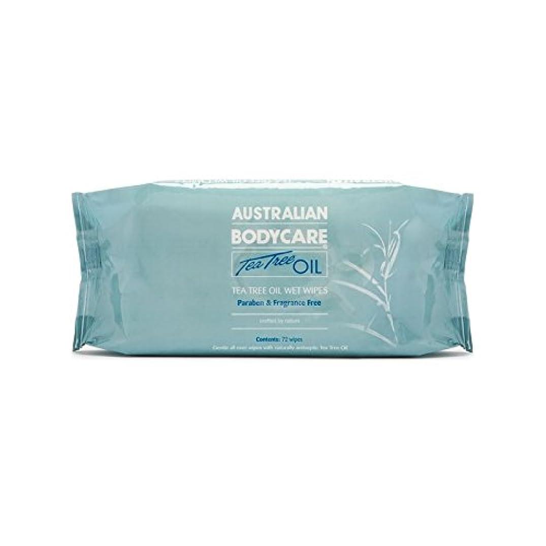 確かなバレエ分泌するオーストラリアのボディケアエコワイプ(72パック) x4 - Australian Bodycare Eco Wipes (72 Pack) (Pack of 4) [並行輸入品]