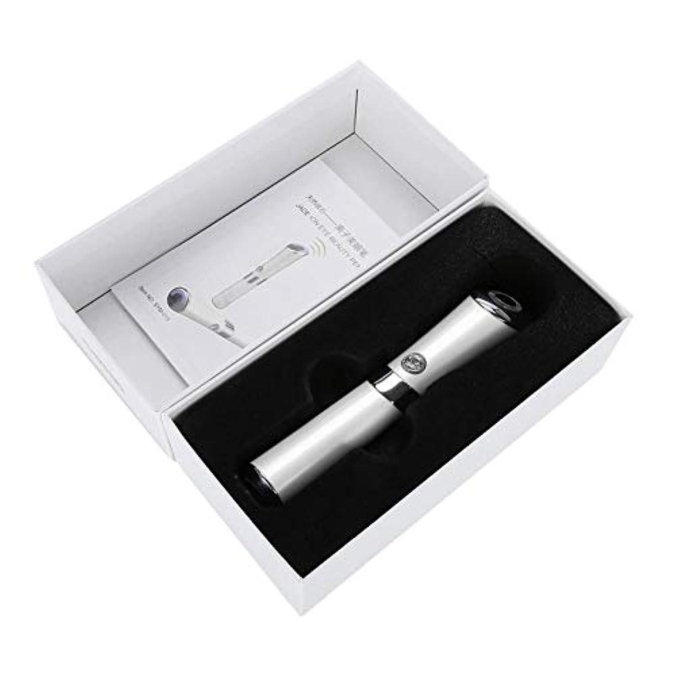 類推候補者赤Ostulla 高品質のハンドヘルド電磁石アイマッサージャー、絶妙なアイケア機器 気配りの行き届いたサービス (Color : White)