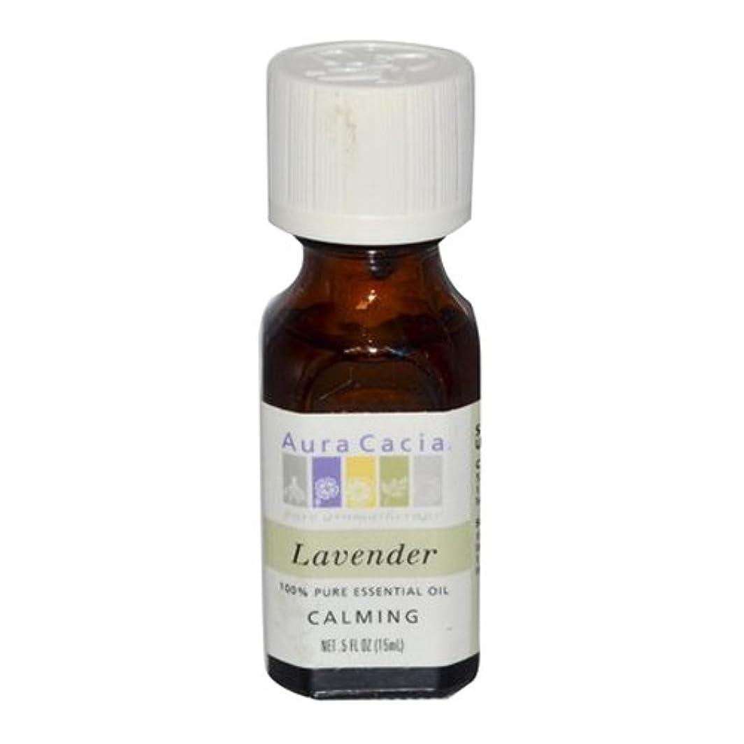 Aura Cacia Lavender Calming Pure Essential Oil 15 ml (並行輸入品)