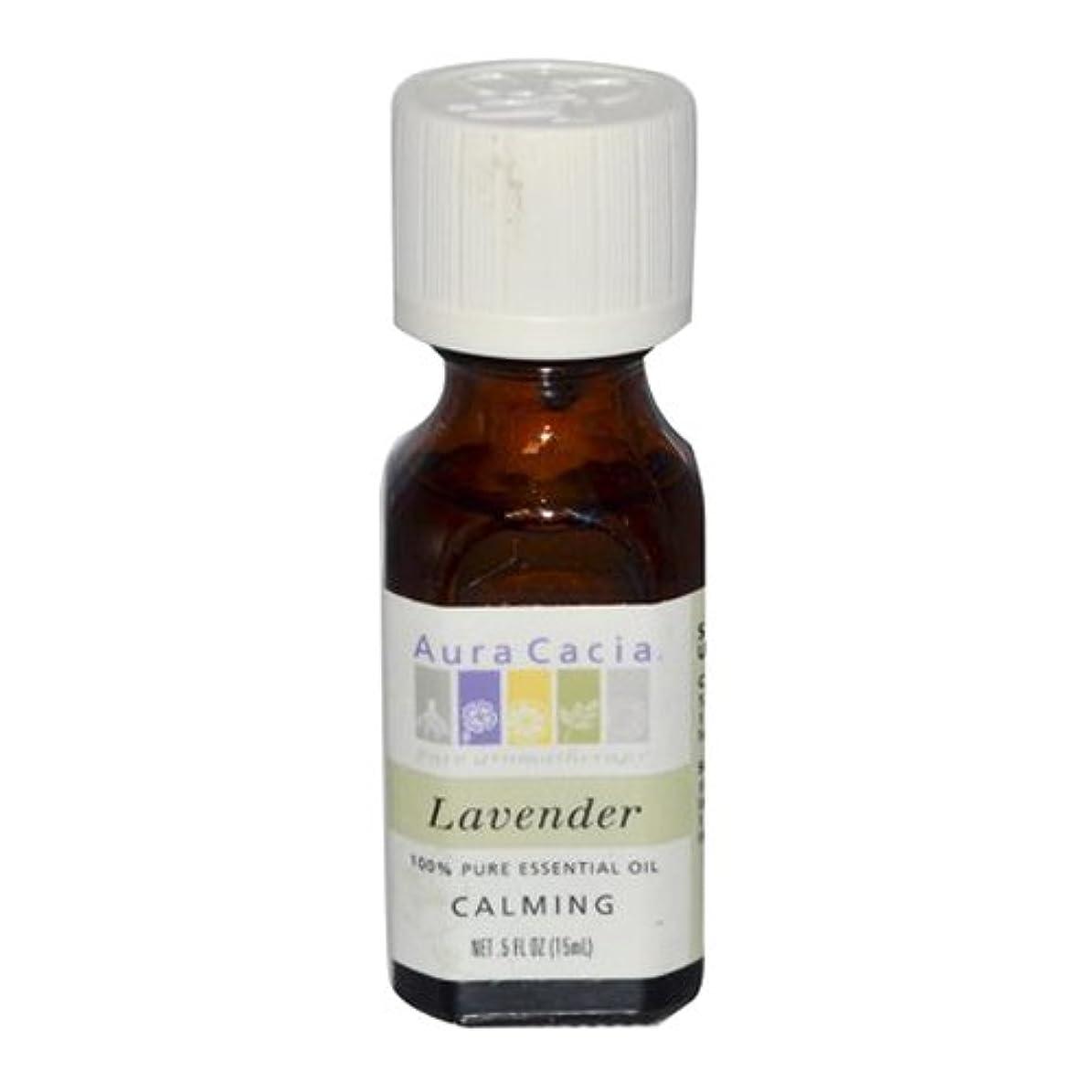 補う岸流体Aura Cacia Lavender Calming Pure Essential Oil 15 ml (並行輸入品)