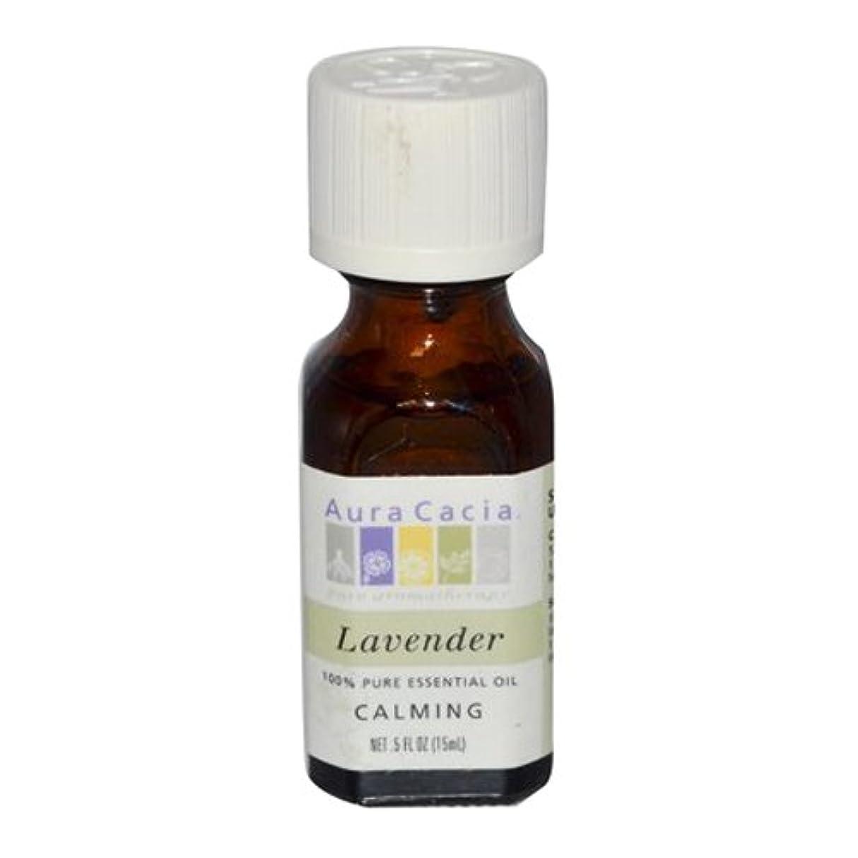 誇り第九ようこそAura Cacia Lavender Calming Pure Essential Oil 15 ml (並行輸入品)