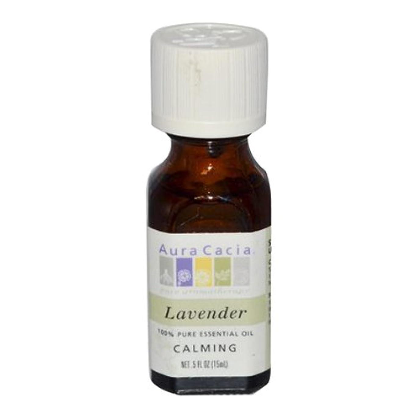 出します記念碑的なAura Cacia Lavender Calming Pure Essential Oil 15 ml (並行輸入品)