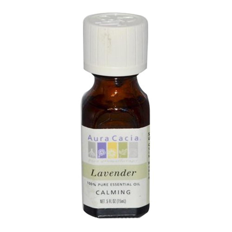 汚れた愛国的なそのAura Cacia Lavender Calming Pure Essential Oil 15 ml (並行輸入品)