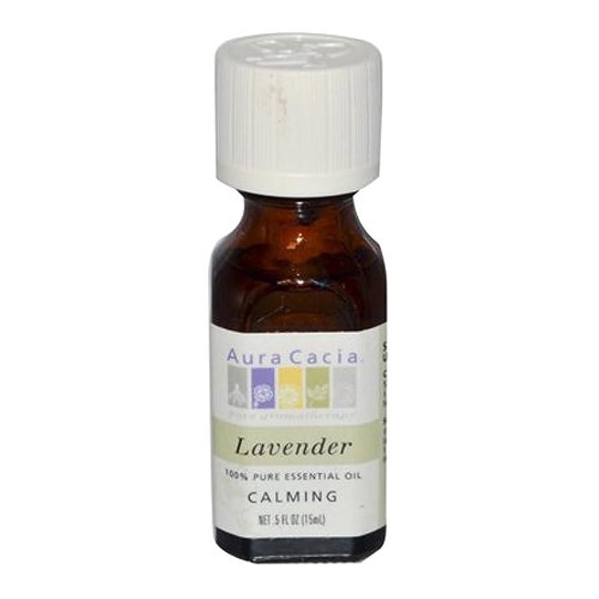 石灰岩レンディション極小Aura Cacia Lavender Calming Pure Essential Oil 15 ml (並行輸入品)
