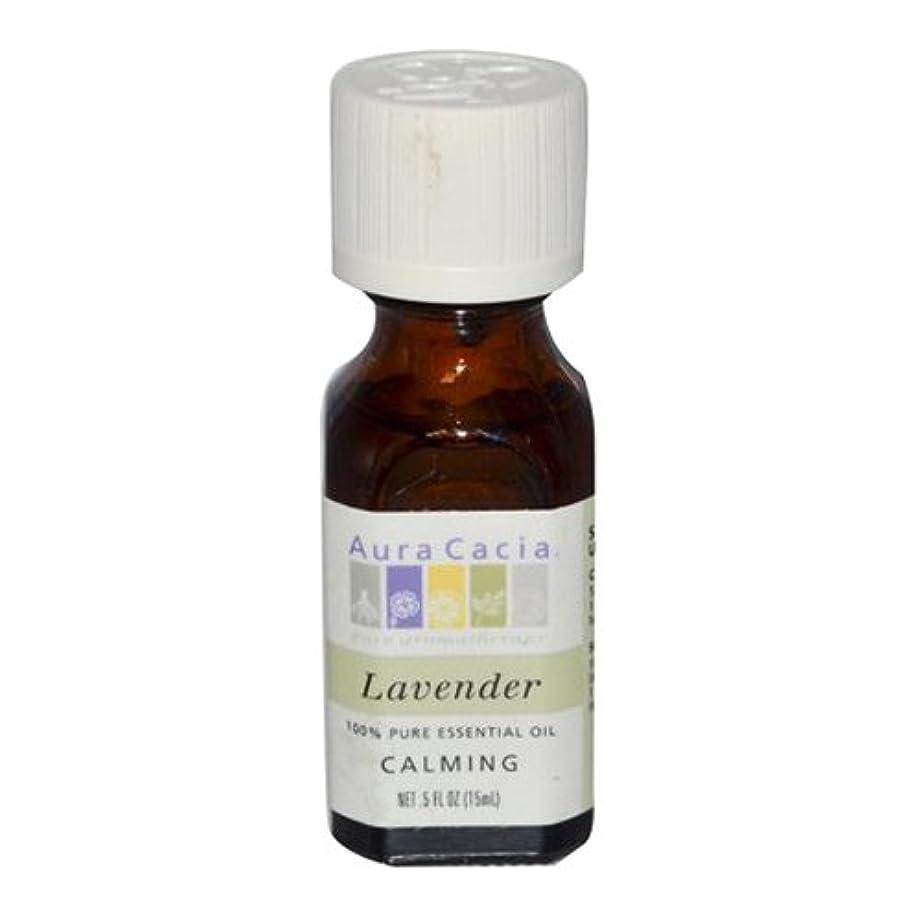 暴力エクステント確執Aura Cacia Lavender Calming Pure Essential Oil 15 ml (並行輸入品)