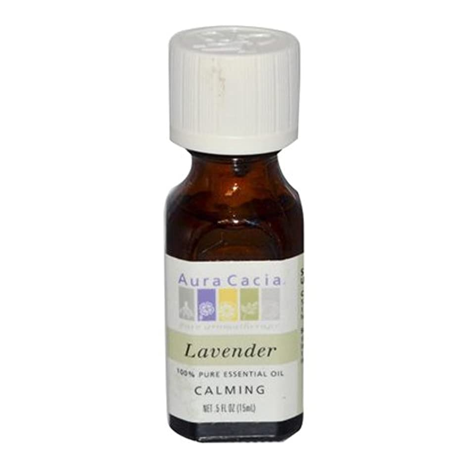 住む最終的に欺くAura Cacia Lavender Calming Pure Essential Oil 15 ml (並行輸入品)