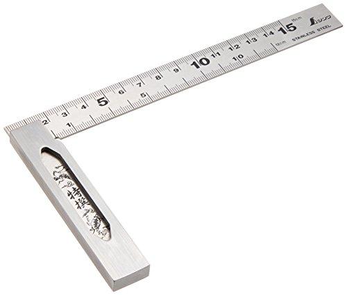 シンワ測定 完全スコヤ cm目盛 15cm 62009