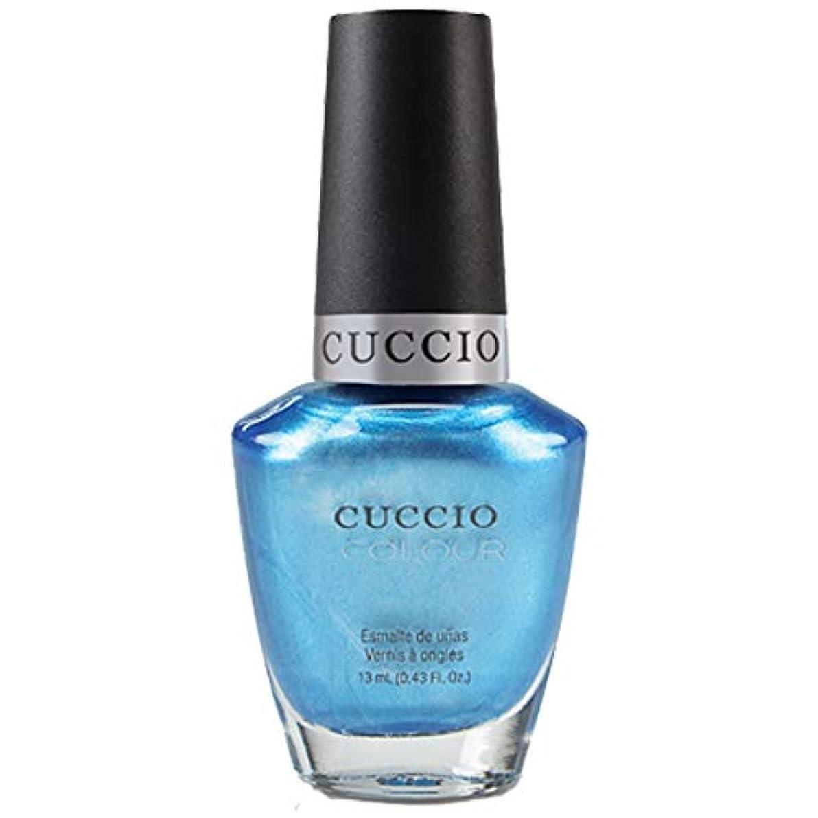 慎重後謎Cuccio Colour Gloss Lacquer - Making Waves - 0.43oz / 13ml