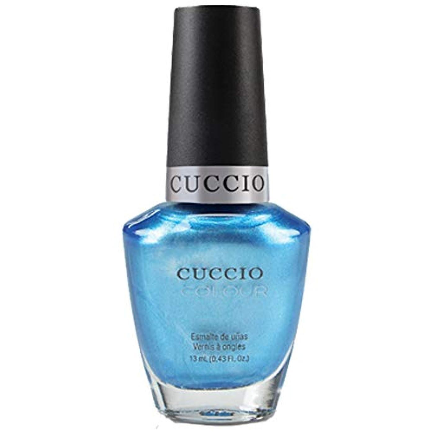 シェフ平方透過性Cuccio Colour Gloss Lacquer - Making Waves - 0.43oz / 13ml