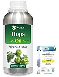 Hops (Humulus lupulus) 100% Natural Pure Essential Oil 2000ml/67 fl.oz.