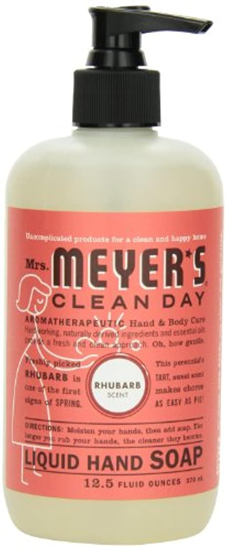テニスモディッシュ留め金Mrs. Meyer's Clean Day Liquid Hand Soap, Rhubarb, 12.5 Fluid Ounce (Pack of 2) by Mrs. Meyer's Clean Day