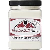 Hoosier Hill Farm (フージャー ヒル ファーム) オール アメリカン 全乳ミルク パウダー 約453.6g入り (インポート)