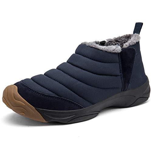 ea353dccb93f60 [Visionreast] 23.0-28.0cm スノーシューズ ブーツ サイドゴア 防寒靴 メンズ レーディス 防寒 防滑 防水 スノーブーツ  短靴 アウトドア 雪靴 綿靴 ブ.