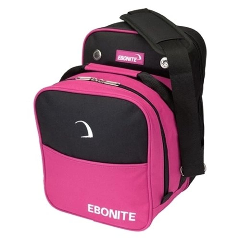EboniteコンパクトSingle Bowling bag-ホットピンク