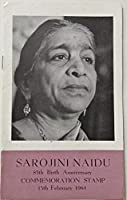 13 Feb. 64 Sarojini Naidu. Personality, Freedom Fighter, Indian Constitution, Womens Day, Poet, Writer, Social Activist, Brochure with Stamp