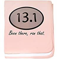 CafePress – Been There 13.1 – スーパーソフトベビー毛布、新生児おくるみ ピンク 07991598086832E