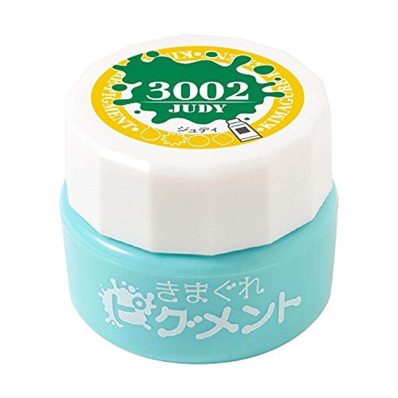 誠意ペチュランス首Bettygel きまぐれピグメント ジュディ QYJ-3002 4g UV/LED対応