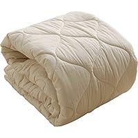 ベッドパッド 日本製 フランスプレミアムウール100% 敷きパッド シングル