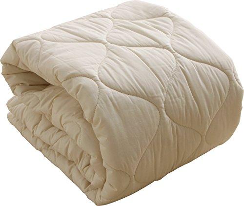 ベッドパッド 日本製 フランスプレミアムウール100% 敷きパ...