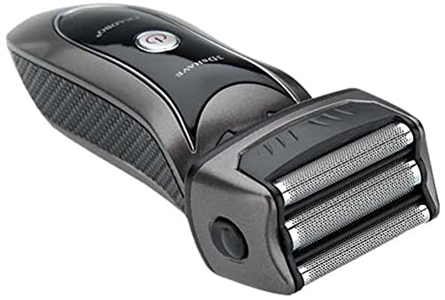 半円鋸歯状パイル3枚刃 3Dシェーバー&鼻毛カッター IT-1019