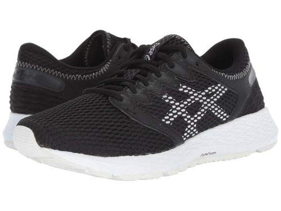 代理店フォーム効果ASICS(アシックス) レディース 女性用 シューズ 靴 スニーカー 運動靴 Roadhawk FF 2 - Black/White [並行輸入品]