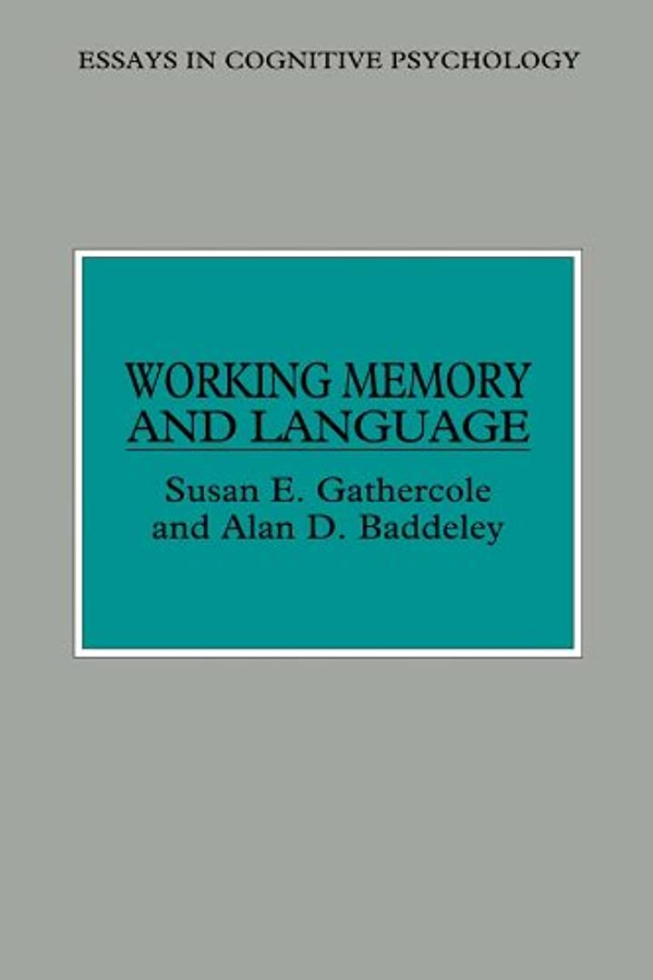 外科医リーズエレガントWorking Memory and Language (Essays in Cognitive Psychology) (English Edition)