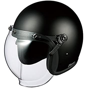 オージーケーカブト(OGK KABUTO)バイクヘルメット ジェット ROCK フラットブラック (サイズ:FREE)