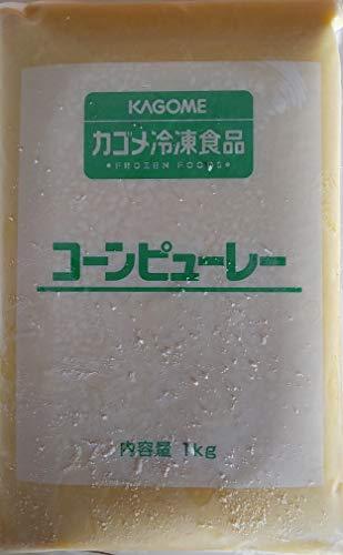 コーンピューレ 1kg×10P 業務用 冷凍 とうもろこし もろこし ペースト ピューレ