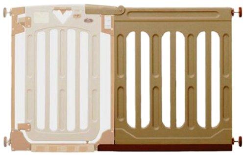 日本育児 ベビーゲート スマートゲイトII 専用ワイドパネル Lサイズ 6ヶ月~24ヶ月対象 スマートゲイト2に接続して拡張するワイドパネル