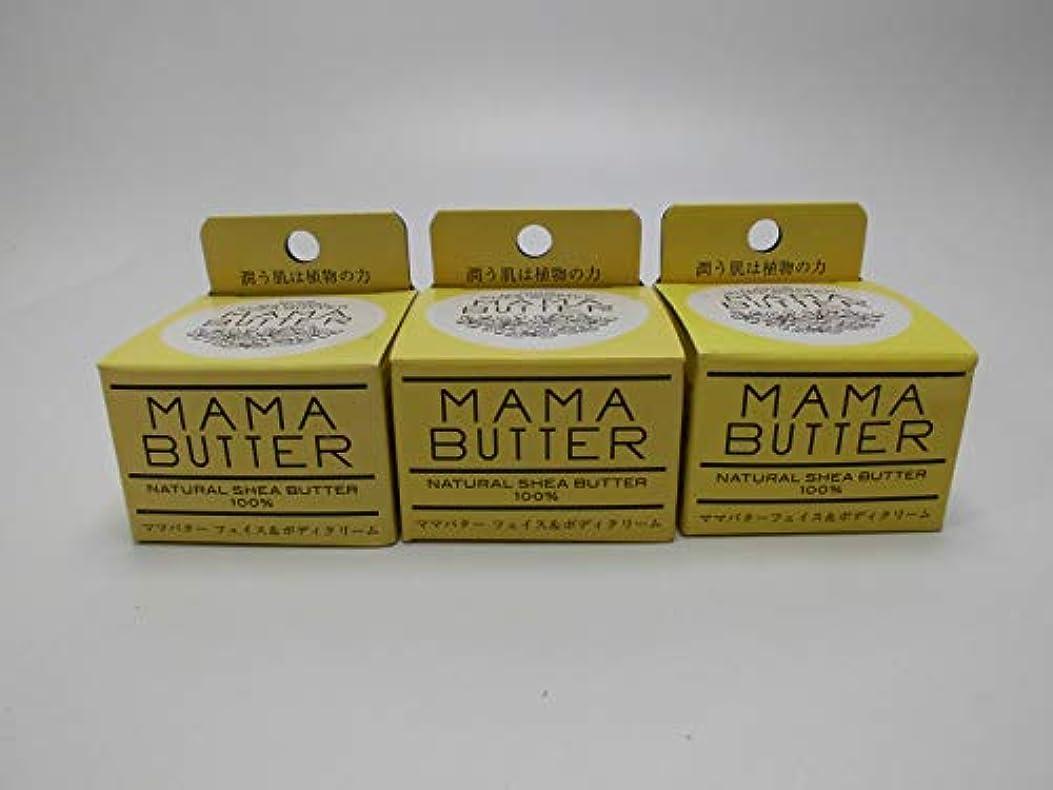 小売観客飢饉【3個セット】保湿 MAMA BUTTER ママバターフェイス&ボディクリーム25g(定価1296円)×3個