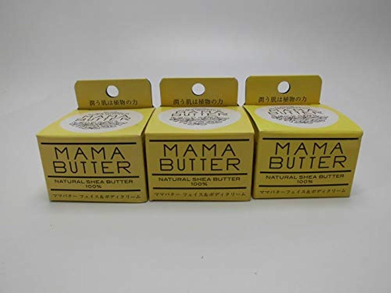 遵守する動く素人【3個セット】保湿 MAMA BUTTER ママバターフェイス&ボディクリーム25g(定価1296円)×3個
