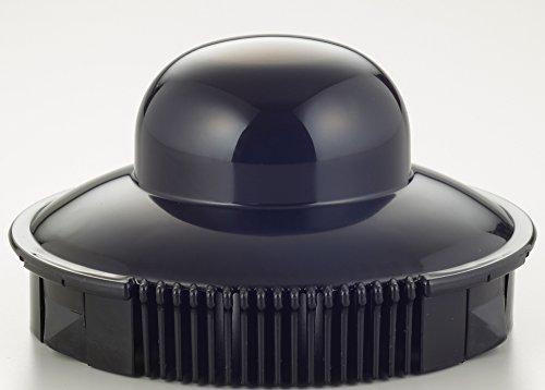 イワキ 耐熱ガラス ドリップポット レンジのポット ブラック 1L コーヒー1000 KT7966-BK2