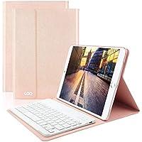 COO iPad 9.7 Bluetooth キーボード付き ケース (ローズゴールド)