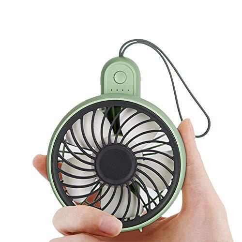 【2019年最新版】 携帯扇風機 JUNSPOW 折りたたみ式 手持ち扇風機 卓上 ファン 超静音 充電式小型 3段階風量調節 タンド機能付き 大容量